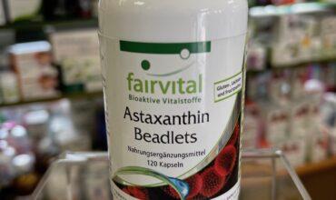 Astaxantina microencapsulada Fairvital :  El Antioxidante más potente que nos ayuda a proteger el cerebro, la piel, el hígado, las articulaciones y mucho más .... y nos ayuda a combatir el envejecimiento !!!